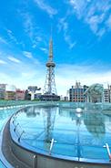 オアシス21からのぞむ名古屋テレビ塔