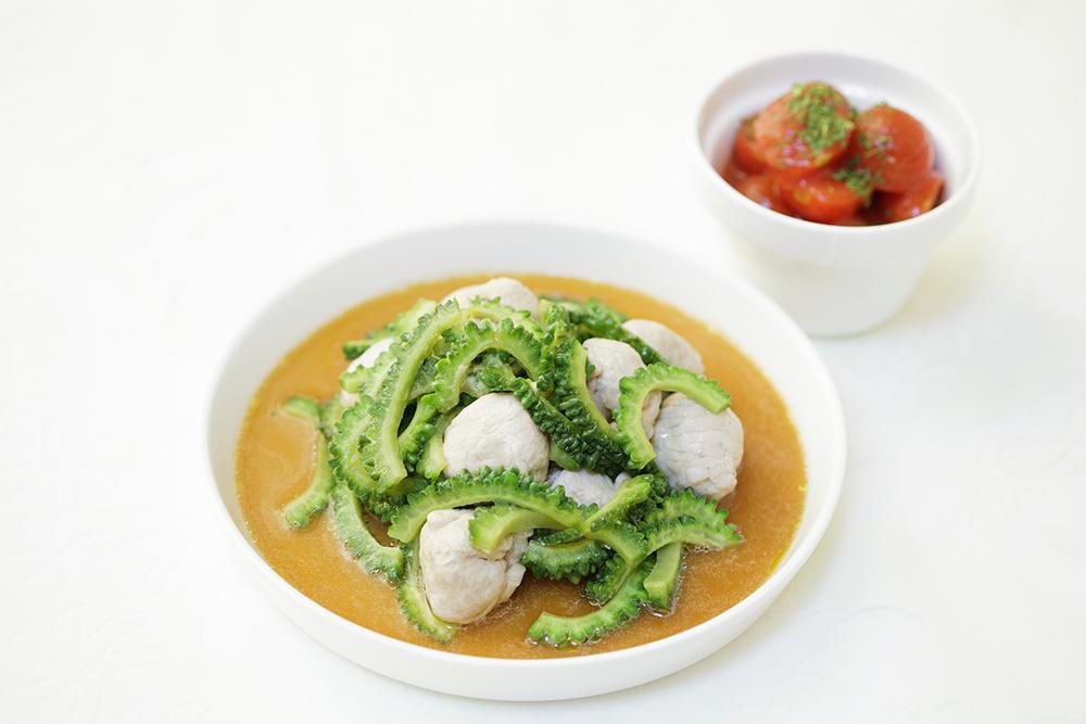 主菜と副菜の画像