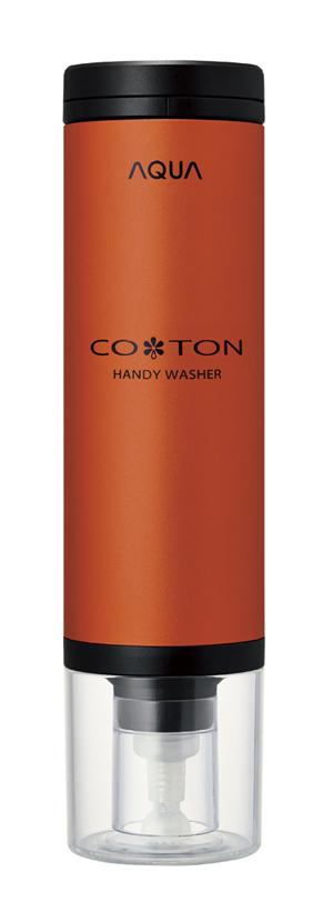 コトン本体。整髪料の缶のようなフォルムです。