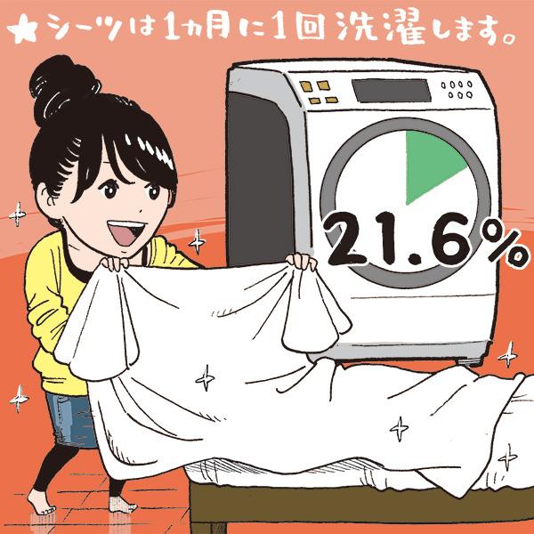 洗濯 シーツ