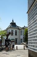 倉敷美観地区にある、倉敷館