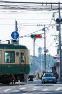 「江ノ電」の愛称で親しまれる江ノ島電鉄